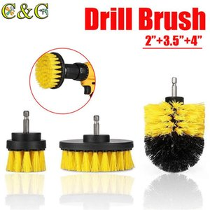 Pcs set Power Scrubber Brush Drill Clean For Bathroom Surfaces Tub Shower Tile Grout Cordless Scrub Cleaning Kit