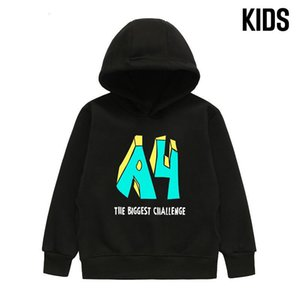 Hoodies & Sweatshirts Kid's Merch A4 Challenge Hoodie Spring Autumn Boy's Hooded Casual Parent Family Clothing Girl's Pullover Tops