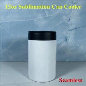 12 أوقية التسامي يمكن أن تبريد الفراغات يمكن أن تعاني الفولاذ المقاوم للصدأ التسامي البهلوان سلس البيرة حامل فراغ معزول زجاجة العزل الباردة