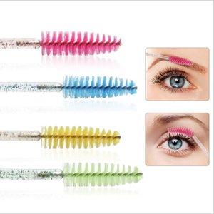 Shiny Eyelash Brush Disposable Eyebrow Brushes Mascara Wands Applicator Comb Grafting Beauty Makeup Tool Lash Curling