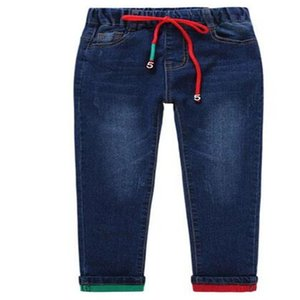 Brand Pants Kids Trousers Fashion Boys Jeans Children Ripped Leggings Spring Denim Clothes Baby Casual Jean Infant 4 to 14 Years 251 Z2