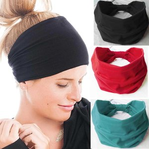 Earloop hairband Face Mask Ear Buckle Elastic headband Ear Lanyard Holder Sports headband With Button bandanas