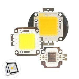 Işık Boncuklu 10/20/30 / 50/100 W DC 12 V 36 V COB LED Çip Lambası Ampul Cips Spot Işıklandırmalı Bahçe Meydanı Entegre Için