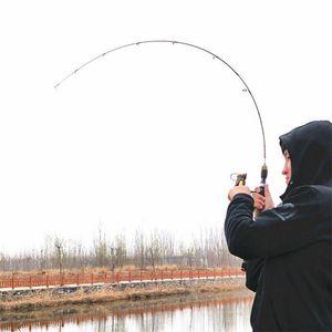 Boat Fishing Rods ULFishing Rod Carbon Spinning 1.8M Lure Casting Pole Ultra Light Power Soft Poles Carp Line 2-5lb Wt 0.8-5g