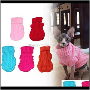 Apparel Clothes Cat Animal Winter Knitted Warm Jumper Sweater For Small Large Dog Pet Clothing Coat Knitting Crochet Supplie Vdldv 4K7Qe