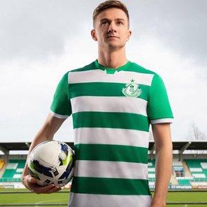Inicio Fútbol 2020 2021 Camisa de fútbol 20 21 Jerseys de manga corta de Shamrock Rovers Camisa de Futebol Camisetas para hombre