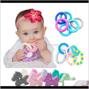 Dentiers soins de santé bébé enfants maternité drop livraison 2021 BPA bracelet bague collier de cheval teher Soothers salubre sain sile dentition bébé