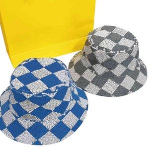 Format Letter Bucket Hat Mens Womens Fashion Cotton Fedora Fishermans Cap Street Walk Casual Brim Hats 4 Season Wear Unisex Fitted Sun Visor