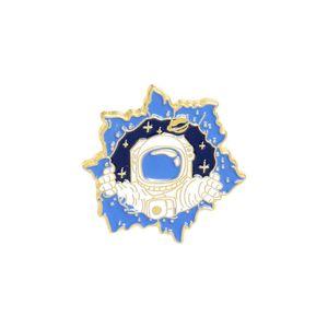 Space uomo smalto spille spille per le donne vestito moda cappotto camicia demin metallo spilla spilla badge promozione regalo 2021 nuovo design 741 q2