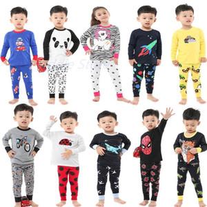 Pajamas Various Design Children Sets Full Sleeve Suits Pijama For Kids Baby Boys Girls Toddlers Sleepwears Nighties 2-8Y