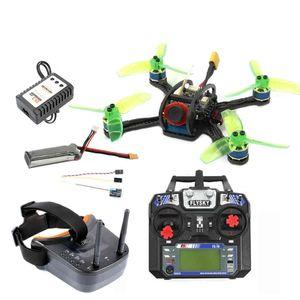 120mm mini F3 OSD 2S RC FPV Racer Drone Quadcopter 700TVL Camera VTX Goggle 10A ESC 7500KV Brushless 2.4G 6CH BNF RTF Set combo X0322