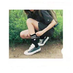 2021 Дизайнерские Обувь Плоские Ткани для мужчин и женщин Кроссовки Низкая Повседневная Обувь Холст Колесовые Швы Леррен Фабрика