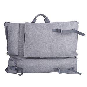 Bolsa de arte de color neutro para dibujo conjunto de pintura conjunto de paquetes de viaje Sketch Sketching Tools Canvas IST Supplies 210418