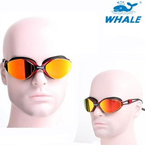 2020 Whale New Arrivals Professional Swimming Goggles Adjustable Plating Men Women Waterproof Silicone Glasses Eyewear sqcQnl hjfeeling