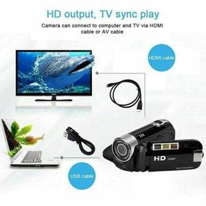 Camcorders 1080P HD Camcorder Digital Video Camera 2.7inch TFT LCD 24MP 16X Zoom DV AV Night Vision Mini DVR Recorder Drop