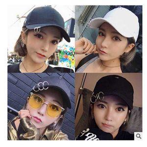 الكورية أزياء بارك zaifan cl نفس البيسبول الرجال والنساء دبوس هوب منحني بريم الهيب هوب قبعة