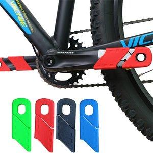 4pcs Accessoires de vélo Couvercle de manivelle de vélo Structure du bras de silicone MTB Cyclisme Crankset Protect Protect antidérapant Protecteur de manivelle 801 Z2
