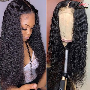 Lace Front Human Hair Wigs Deep Wave Wig 4x4 Lace Closure Wigs Remy Curly Human Hair Wig Frontal Wigs