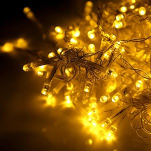 600LED Window Curtain String Fairy Light Wedding Christmas Party Decor(Warm White) High brightness Strings lighting