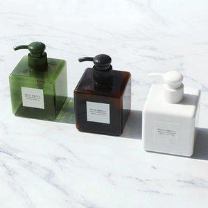 250ml Bathroom Liquid Dispenser Shampoo Body Wash Lotion Bottle Travel Random Colors Soap