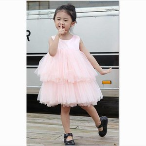Kids Tutu Dress For Girls Summer Children Tulle Frock Toddler Princess Ball Gown Cotton Clothes Girl 1st Birthday Party Dresses Girl's