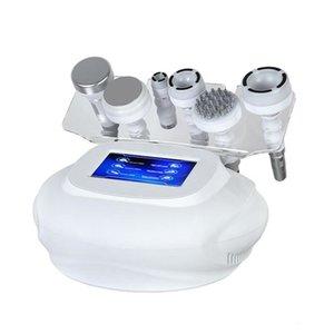 하이 엔드 6 in 1 Beauty 슬리밍 진공 무선 주파수 80K 초음파 캐비테이션 기계 전신 마사지 피부 근육 자극 장비