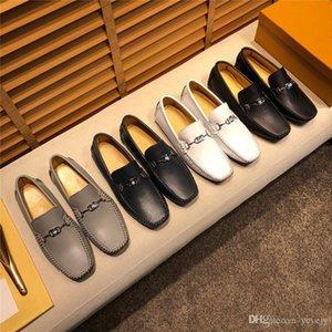 ML Brand 2021 Новые Роскошные Натуральные Кожа Квартиры Итальянские Мужские Мокасины Мужская Обувь Повседневная Мода Скольжения на Дизайн Вождение 22