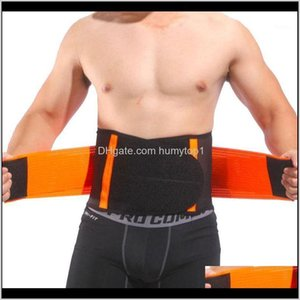 Safety Athletic Outdoor Accs Sports & Outdoors Drop Delivery 2021 1Pc 4 Plates Support Brace Dual Compression Abdominal Protection Waist Trim
