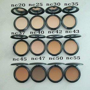 Face Powder Makeup Plus Foundation مضغوط ماتي الطبيعية المكياج الوجه سهلة لارتداء 15G كل الألوان NC 12 الألوان ل chooes