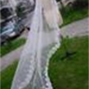 Shipping!! 2019 Elegant Lace Edge Long Bridal Veils 1 Layer Applique Ivory White Veils for Wedding Bridal Accessories