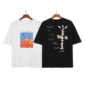 TRIS SCOTT QUALITE TS Périphérique Match T-shirt à manches courtes pour hommes et femmes