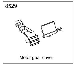 ZD racing EX07 super sports car 1 7 original accessories 8529 motor gear cover
