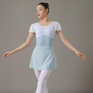 Stage Wear Women Skirt Two-piece Crossover Skirt, Dance Practice Ballet Leggings, Yoga Hakama