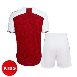 아기 유니폼 아이들의 옷 축구 유니폼 홈 20 21 Odegaard Pepe Saka Nicolas Tierney Henry Willian Maitland 2021 축구 셔츠