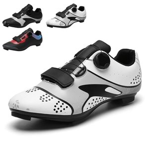 Road King Cycling أحذية رجالية سرعة الدراجة الرياضية قفل أحذية رياضية ضرب الجبل عدم الانزلاق الاتجاه 36-47 الأحذية