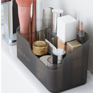 Multi-functional Skin Care Products Remote Control Cosmetics Jewelry Storage Box Make Up Organizer Boxes Bins OWE5779