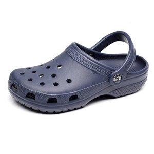 Venti 2021 pantofole Slip Slip on Casual Beach Scarpe impermeabili da uomo Classic Seuding Zoccoli Ospedale Donne da lavoro Sandali medici 36-47