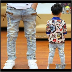 Clothing Baby, & Maternity Drop Delivery 2021 Skinny Children Casual Classic Denim Kids Trend Long Bot Baby Jeans For Boys Pants 201204 Fm4Po
