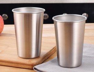 350ML Stainless Steel Mugs Tumbler Pint Glasses Metal Cups Outdoor Camping Travel Drinking Coffee Tea Beer