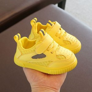 Baby toddler shoes, 1-3 years old boys and girls, breathable mesh sports shoes, infant soft-soled shoes