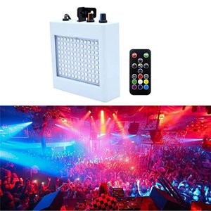 108 LED Mixed Flashing Laser Lighting Remote Sound Activated Disco Lamps for Festival Parties Light Wedding KTV Strobe Lamp