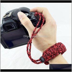 Survival Bracelets Design Out Door Forapid 550 Digital Camera Wrist Strap Hand Grip Paracord Braided Wristband For Dslr Cameras 6E32O Voc85