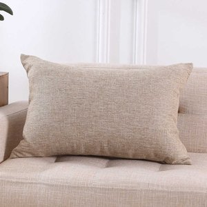 Fabric rectangular without core living room back cushion large holding sofa pillow cover
