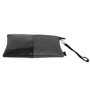 Latest PU Oxford Smoking Smell Proof Stash Bag Lined Travel Case Handbag Hand Rope Pocket For Lighter Spices Grinder Herb Tobacco Bong Handpipe DHL Free
