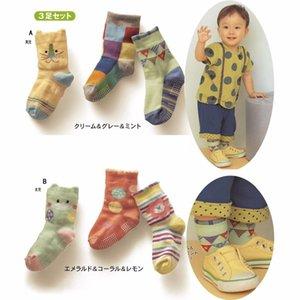 Children Socks Newborn Floor Shoe Unisex Baby Sock Kids pantufa Toddler socks non-slip Girl Ankle High 210413