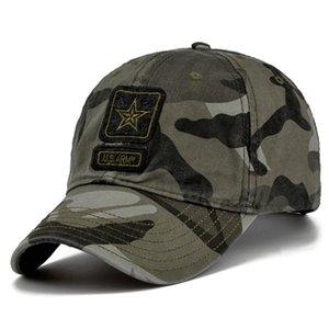 Мода хип-хоп армия кепки камуфлятора бейсболки мужские камуфляжные тактические колпачки мужские бейсбольные колпачки хлопчатобумажные снимки шляпы солнце шляпы Gorras