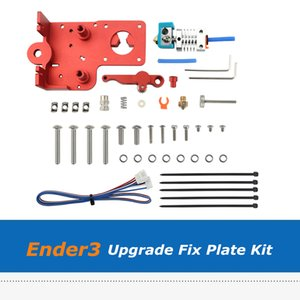 Full Set Upgrade Direct Drive Hotend Dual-Drive Extruder Fix Plate Kit For Creality Ender-3 3S V2 3D Printer Parts