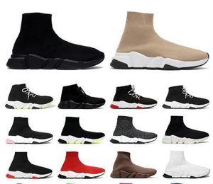 2021 Tasarımcı Çorap Spor Hızı 2.0 Eğitmenler Eğitmen Lüks Kadın Erkek Koşucular Ayakkabı Trainer Sneakers Çorap Botları Platformu
