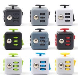 Fashion Cube Fidget Toys Sensory Anti Stress Autism Needs Anxiety Reliever Tools 2021 DHL Ship