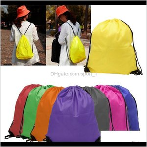 Bags Storage Housekeeping Organization Home & Garden Drop Delivery 2021 Kids Clothes Shoes Bag High Quality School Dstring Frozen Sport Gym P